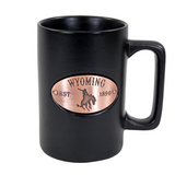 Wyoming Copper Medallion Mug