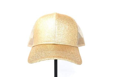 Women's Glitter Ball Cap