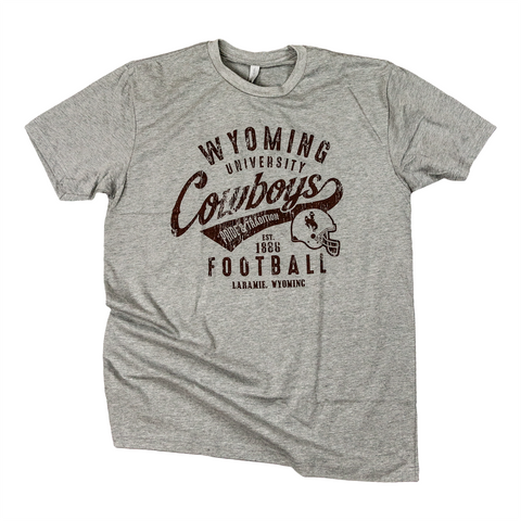 Wyoming Vintage Football SS T-shirt