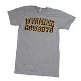 Wyoming Cowboys Chiseled Block Tee