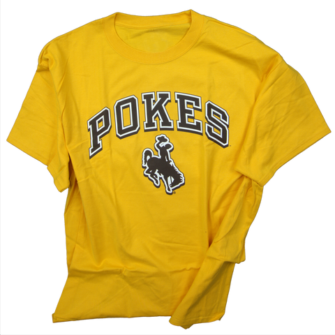 Pokes Bucking Horse SS T-Shirt