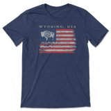 Wyoming USA Flag Shirt
