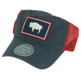 Zephyr Wyoming Flag Dad Cap