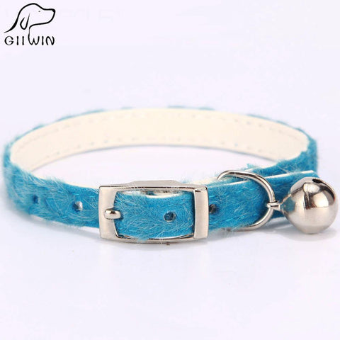 Adjustable Cat Collar Pet Set Leash Puppy Collar Dog Bell Bling Neck Collars-Pristine Pups