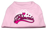 I'M A Princess Screen Print Shirts Pink Xs (8)-Dog Shirts-Pristine Pups
