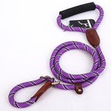Pet Leash For Dog Collar Harness Products Set Nylon Training Leash For Small Large Pet Dog K9-Pristine Pups