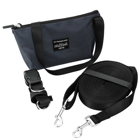 Dog Puppy Training Obedience Lead Long Leash With Waist Belt And Organizer Bag-Pristine Pups