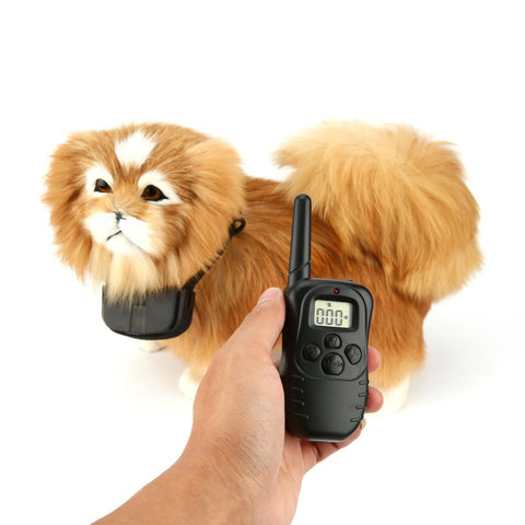 Anti Bark Remote Electric Shock Vibration Battery Power Pet Dog No Barking Anti Bark Training Collar Devices for 1 Dog-Pristine Pups