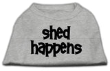 Dog Shirt Shed Happens Screen Print Shirt Grey Xxl (18)-Dog Shirts-Pristine Pups