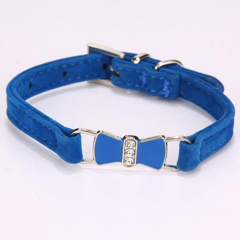 Small Puppy Pet Cat Collar Dog Collars Adjustable Buckle Leash Dog-Collar Harness Chihuahua-Pristine Pups