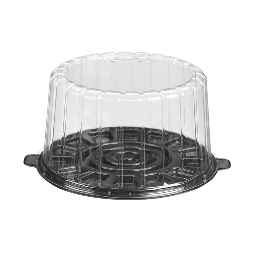 "7"" Cake Container With Dome Lid (100/cs) - Paper Supplies Plus"