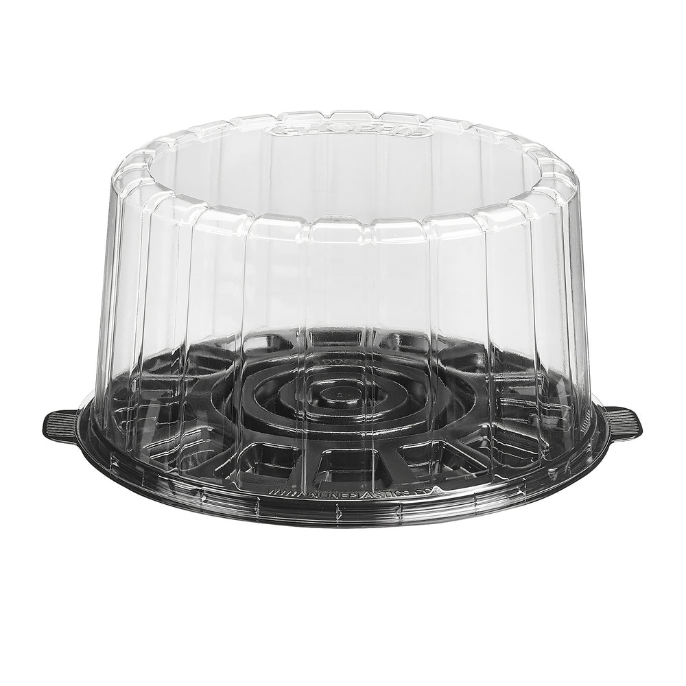 "8"" Cake Container With Dome Lid (100/cs) - Paper Supplies Plus"
