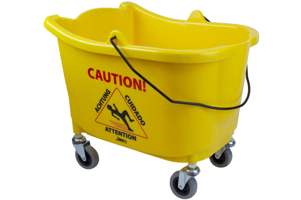 35 Qt Yellow Mop Bucket - Paper Supplies Plus