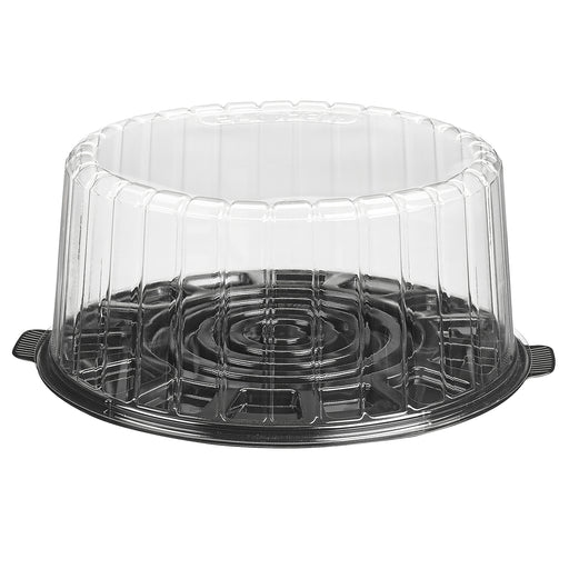 "10"" Cake Container With Dome Lid (50/cs) - Paper Supplies Plus"