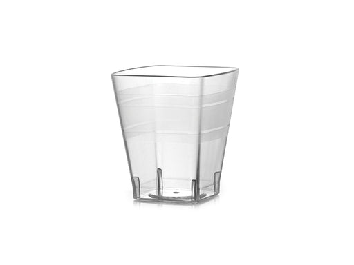 2 oz. Square Shot Glasses (432/CS) - Paper Supplies Plus