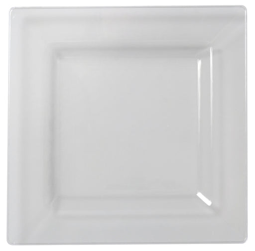 "9.5"" Square Dinner Plate (120/CS) - Paper Supplies Plus"