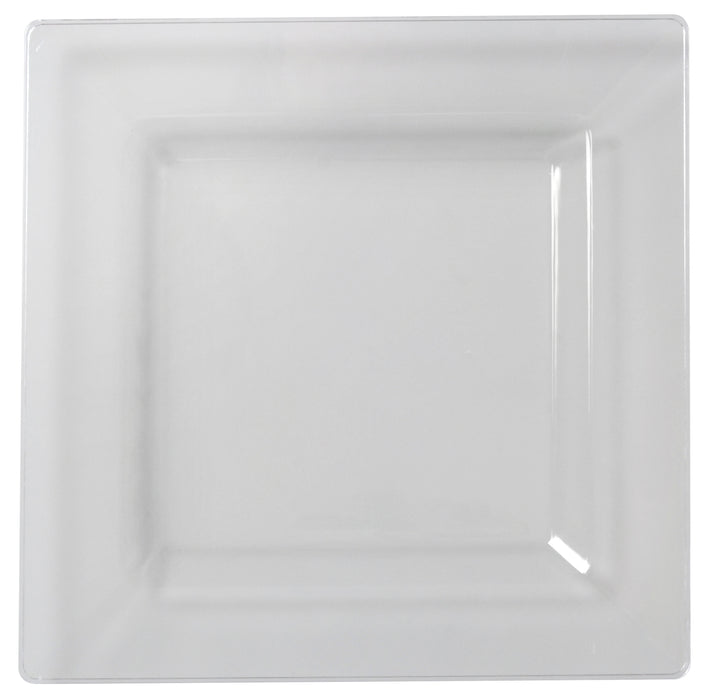"10.75"" Square Dinner Plate (120/CS) - Paper Supplies Plus"