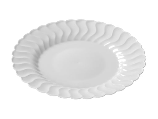"9""  Plastic Plate (Fineline Flairware Collection)-180/CS - Paper Supplies Plus"