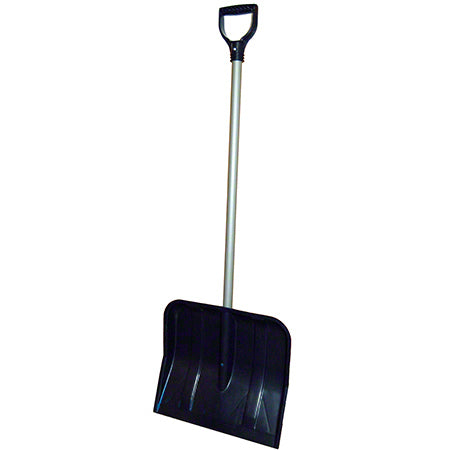 "SNOW SHOVEL 18"" POLY BLADE - Paper Supplies Plus"