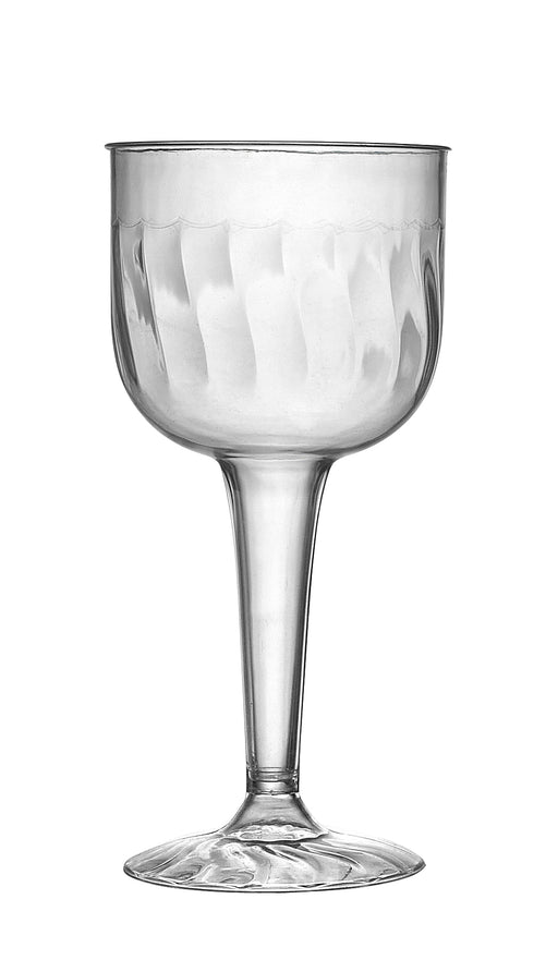 8 oz. 1 PIECE WINE GOBLET (96/CS) - Paper Supplies Plus