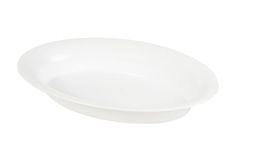 "Oval Bowl 14"" x 21"" 250 oz. (20/CS) - Paper Supplies Plus"