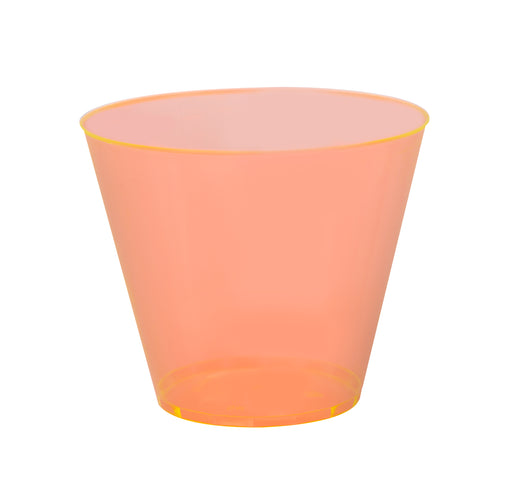 9 oz. OLD-FASHIONED TUMBLERS 500 PACK ( Avail. Red, Orange, & Yellow) - Paper Supplies Plus
