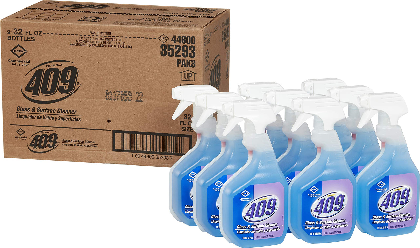 Formula 409- 32 oz. Glass Cleaner and Multi-Surface Spray (9 Bottles per case)