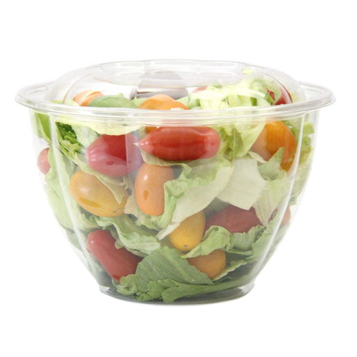 48 oz Salad Bowl Combo (150/CS)` - Paper Supplies Plus