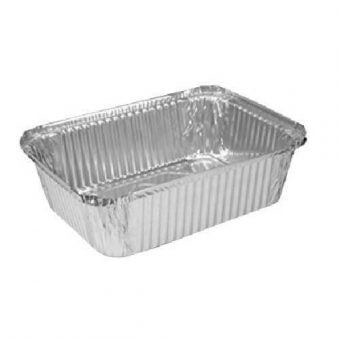 5 lb Oblong Aluminum Foil Pan Heavy-240/Case - Paper Supplies Plus