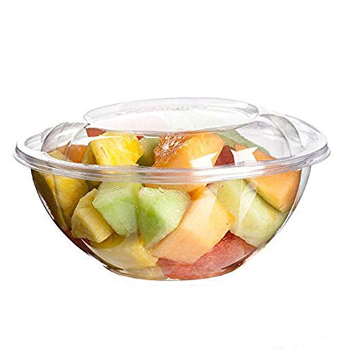 24 oz Salad Bowl Combo (150/CS)` - Paper Supplies Plus