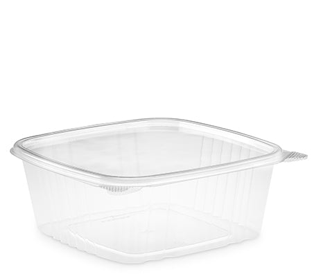64 oz. Clear Hinged Deli Container (200/CS)