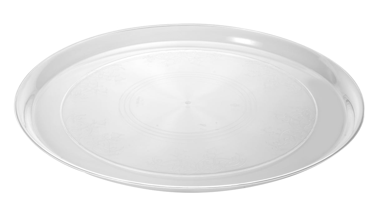 "Supreme 18"" Round Tray (25/CS) - Paper Supplies Plus"