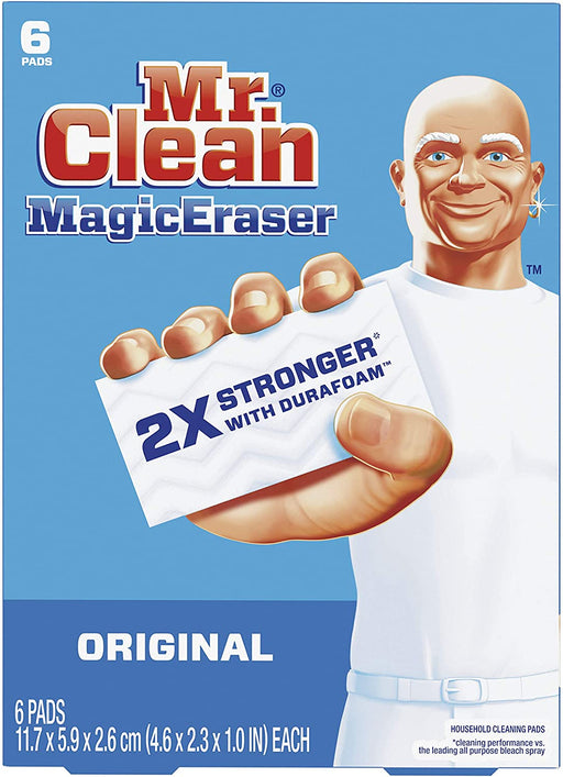 Mr. Clean Magic Eraser Original, Cleaning Pads with Durafoam, 36 CASE - Paper Supplies Plus