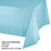 Creative Converting 54 X 108 Pastel Blue Rectangular Disposable Plastic Table Cover - 12/Case