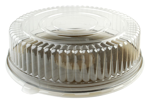 "14"" Dome Lid (High)-25/CS - Paper Supplies Plus"