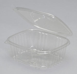 32 oz. Clear Hinged Deli Container (200/CS) - Paper Supplies Plus