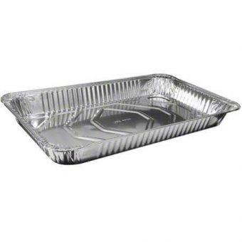 Full Size Aluminum Foil Steam Table Medium -50/Case - Paper Supplies Plus