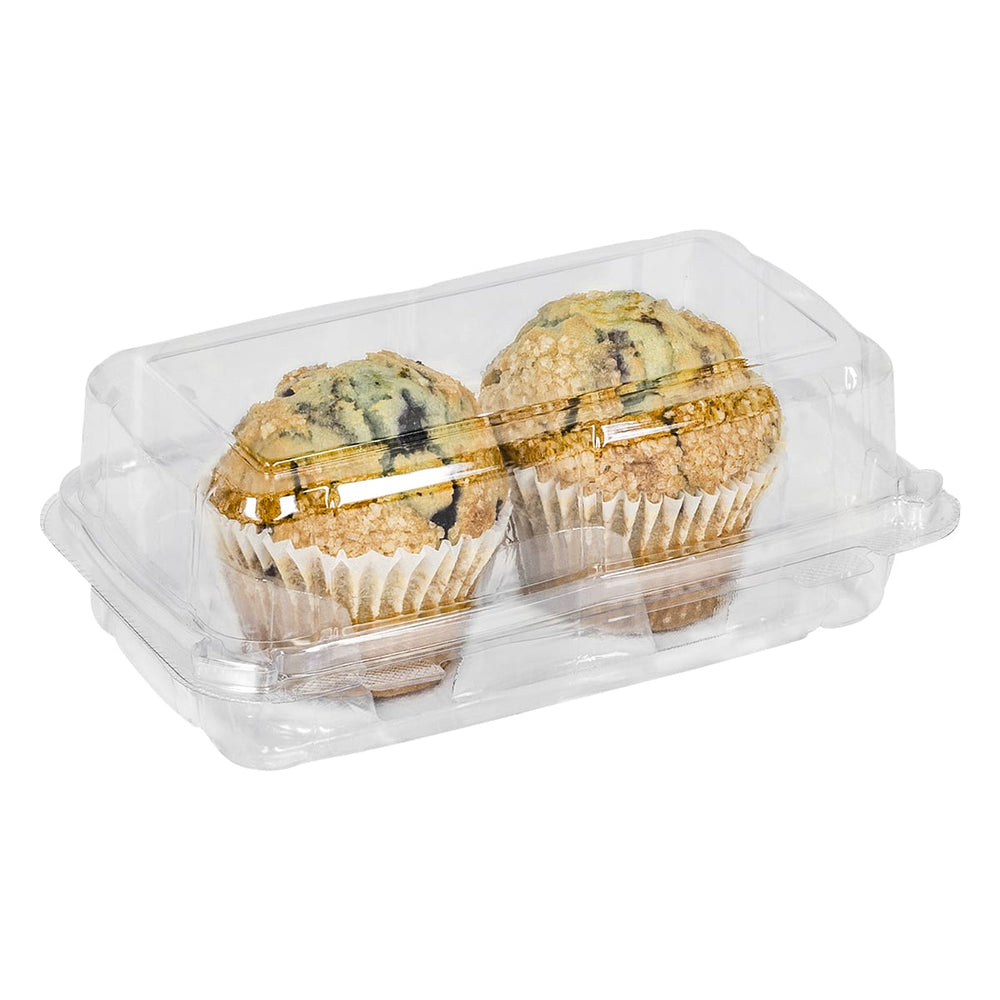 2-Count Muffin Container (240 Per Case)