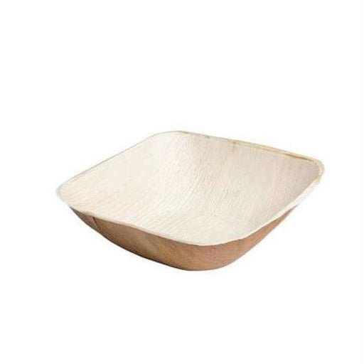 12 oz. Square Palm Leaf Eco Friendly Disposable Soup Bowls (100 Per Case)
