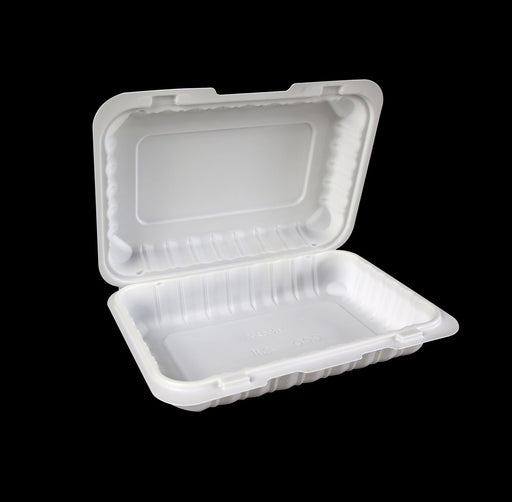 "9"" X 6"" Mineral-Filled Polypropylene Hinged Container (150/CS)"