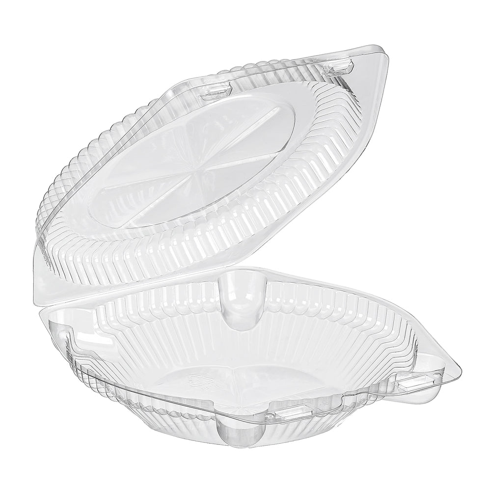 "SLP106 - 6"" Pie Hinged Container (300/CS)"