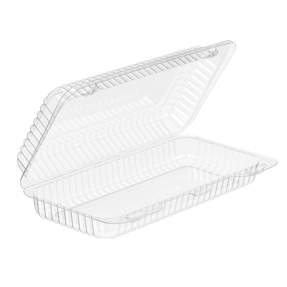 SLP18 HINGED SANDWICH CONTAINER (300/CS) - Paper Supplies Plus