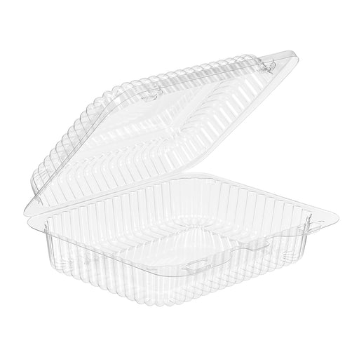 SLP26 2 ECLAIR HINGED TRAY  (300/CS) - Paper Supplies Plus