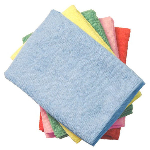 Supremo™ Microfiber Cloth 16x16 (12 pk) - Paper Supplies Plus