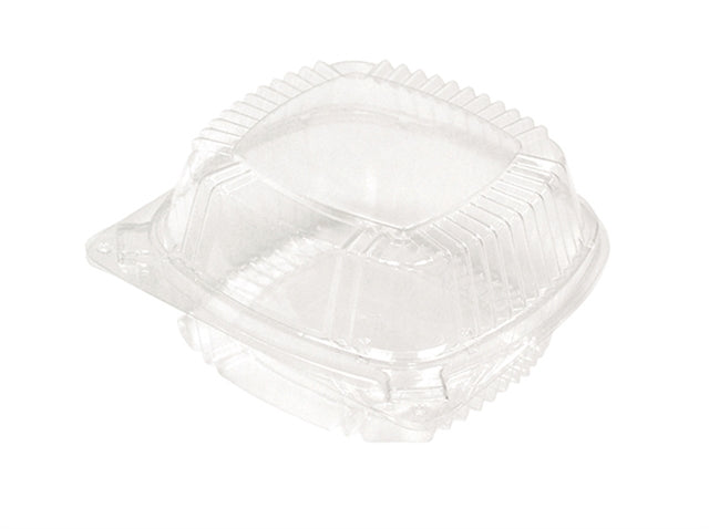 "SMRTLK 5"" HING LID SANDWICH-CLEAR (375/CS) - Paper Supplies Plus"