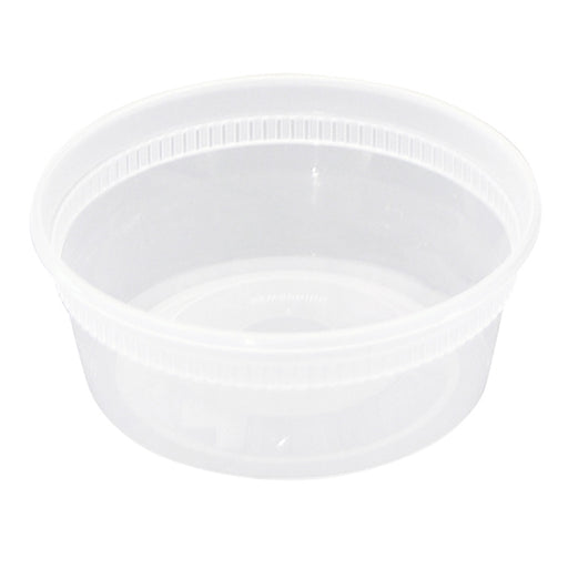 Newspring  8oz Deli Container Combo (240/CS) - Paper Supplies Plus