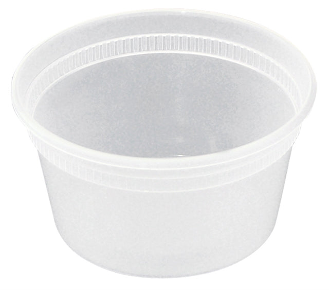 Newspring  12oz Deli Container Combo (240/CS) - Paper Supplies Plus