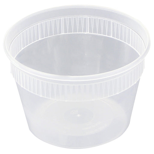 Newspring  16oz Deli Container Combo (240/CS) - Paper Supplies Plus