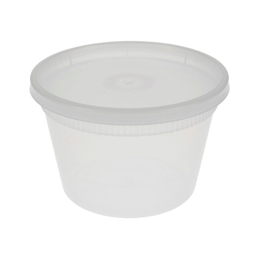 PACTIV 16oz Heavy Weight Deli Container Combo (240/CS)