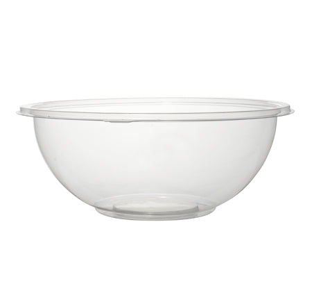 24 oz. Salad Bowl-100/CS (Black, Clear, & Green) - Paper Supplies Plus